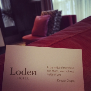 A Boutique West Coast Getaway at The Loden