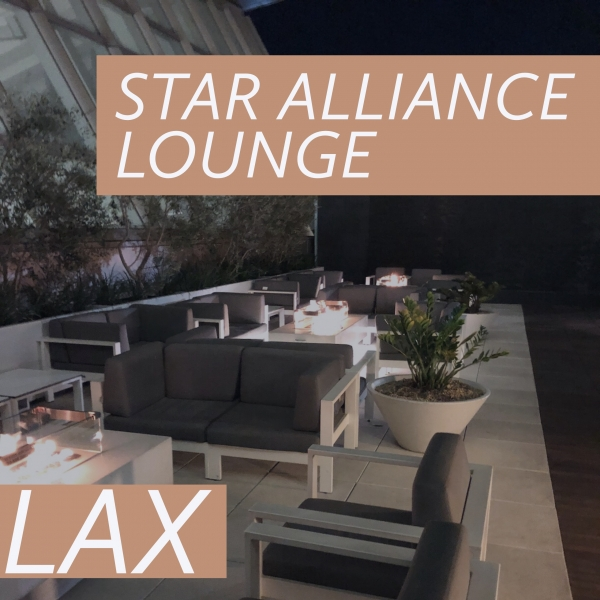Visiting the Star Alliance Lounge at LAX... From Terminal 7