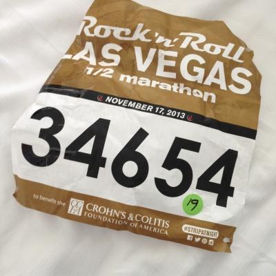 Running the 1/2 Marathon in Las Vegas