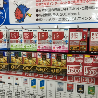 SIM Cards in Japan